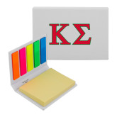Micro Sticky Book-Kappa Sigma - Greek Letters - 2 Color