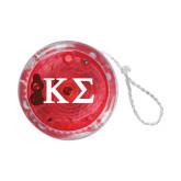 Light Up Red YoYo-Kappa Sigma - Greek Letters