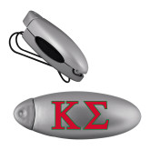 Silver Bullet Clip Sunglass Holder-Kappa Sigma - Greek Letters - 2 Color