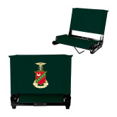 Stadium Chair Dark Green-Crest