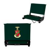 Stadium Chair Dark Green-Crest