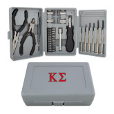 Compact 26 Piece Deluxe Tool Kit-Kappa Sigma - Greek Letters - 2 Color