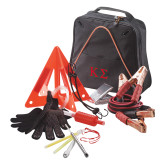 Highway Companion Black Safety Kit-Kappa Sigma - Greek Letters - 2 Color