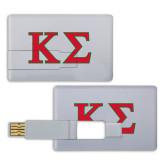 Card USB Drive 4GB-Kappa Sigma - Greek Letters - 2 Color