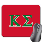 Full Color Mousepad-Kappa Sigma - Greek Letters - 2 Color