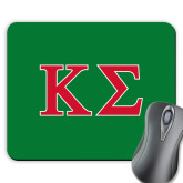 Full Color Mousepad-Kappa Sigma - Greek Letters - 2 Color