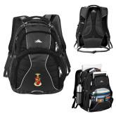 High Sierra Swerve Compu Backpack-Crest