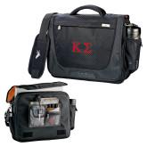 High Sierra Black Upload Business Compu Case-Kappa Sigma - Greek Letters - 2 Color