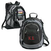 High Sierra Black Titan Day Pack-Kappa Sigma - Greek Letters - 2 Color