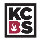 Medium Decal-KCBS, 8in tall