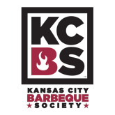 Large Decal-Kansas City Barbeque Society, 12in tall