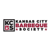 Large Decal-Kansas City Barbeque Society Flat, 12in wide