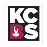 Large Decal-KCBS, 12in tall