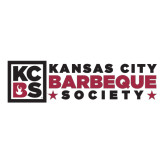 Extra Large Decal-Kansas City Barbeque Society Flat, 18in wide