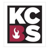 Extra Large Decal-KCBS, 18in tall