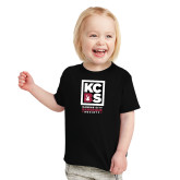 Toddler Black T Shirt-Kansas City Barbeque Society