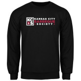 Black Fleece Crew-Kansas City Barbeque Society Flat