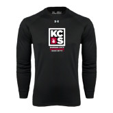 Under Armour Black Long Sleeve Tech Tee-Kansas City Barbeque Society