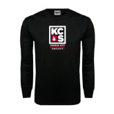 Black Long Sleeve TShirt-Kansas City Barbeque Society