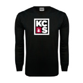 Black Long Sleeve TShirt-KCBS