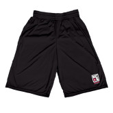 Midcourt Performance Black 9 Inch Game Short-Kansas City Barbeque Society