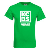 Kelly Green T Shirt-Kansas City Barbeque Society