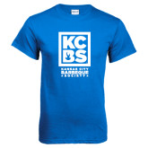 Royal Blue T Shirt-Kansas City Barbeque Society