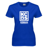 Ladies Royal T Shirt-Kansas City Barbeque Society