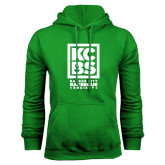 Kelly Green Fleece Hood-Kansas City Barbeque Society