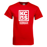 Red T Shirt-Kansas City Barbeque Society