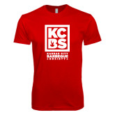 Next Level SoftStyle Red T Shirt-Kansas City Barbeque Society