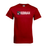 Cardinal T Shirt-Kansas City Barbeque Society Flat