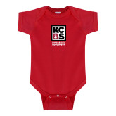 Red Infant Onesie-Kansas City Barbeque Society