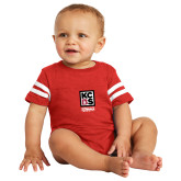 Vintage Red Jersey Onesie-Kansas City Barbeque Society