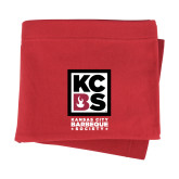 Red Sweatshirt Blanket-Kansas City Barbeque Society