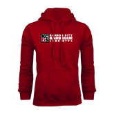 Cardinal Fleece Hood-Kansas City Barbeque Society Flat