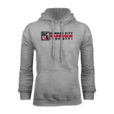 Grey Fleece Hoodie-Kansas City Barbeque Society Flat
