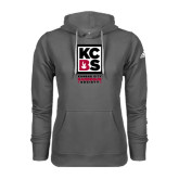 Adidas Climawarm Charcoal Team Issue Hoodie-Kansas City Barbeque Society