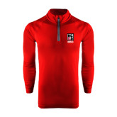 Under Armour Cardinal Tech 1/4 Zip Performance Shirt-Kansas City Barbeque Society