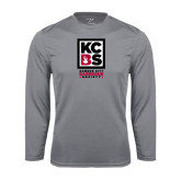 Performance Steel Longsleeve Shirt-Kansas City Barbeque Society
