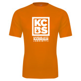 Performance Orange Tee-Kansas City Barbeque Society