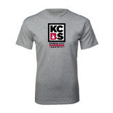 Sport Grey T Shirt-Kansas City Barbeque Society