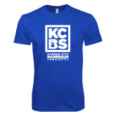 Next Level SoftStyle Royal T Shirt-Kansas City Barbeque Society
