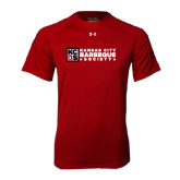 Under Armour Cardinal Tech Tee-Kansas City Barbeque Society Flat
