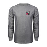 Grey Long Sleeve T Shirt-KCBS