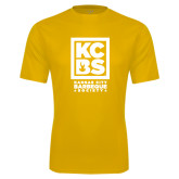 Performance Gold Tee-Kansas City Barbeque Society