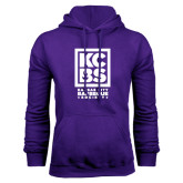 Purple Fleece Hood-Kansas City Barbeque Society