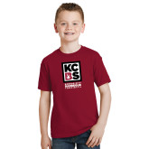 Youth Cardinal T Shirt-Kansas City Barbeque Society