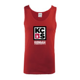Cardinal Tank Top-Kansas City Barbeque Society