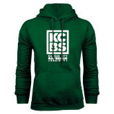 Dark Green Fleece Hood-Kansas City Barbeque Society